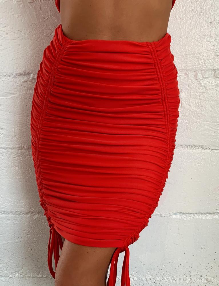 Chase Skirt - Red