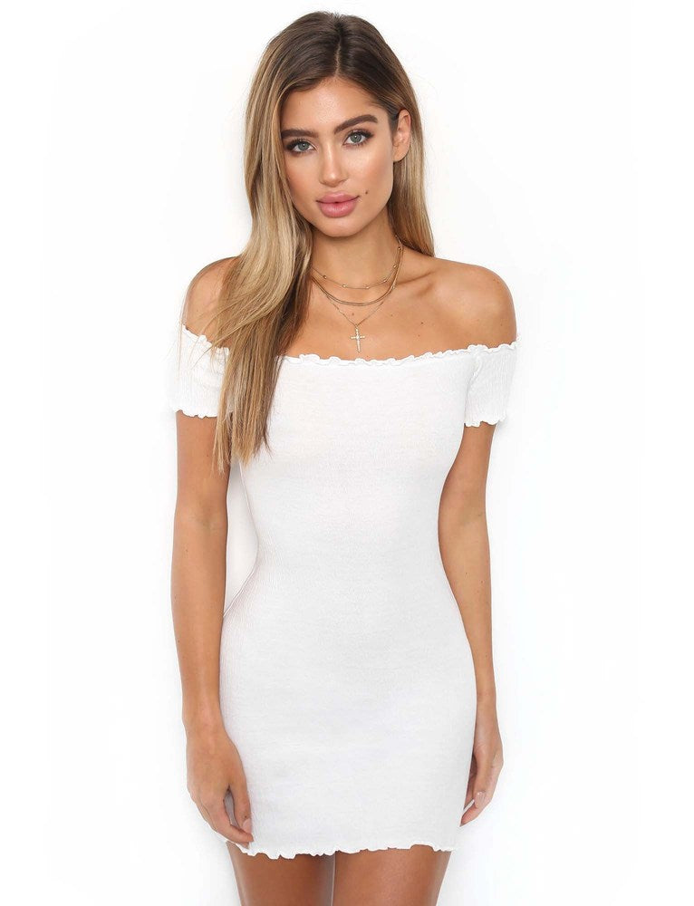 Mia Dress - White