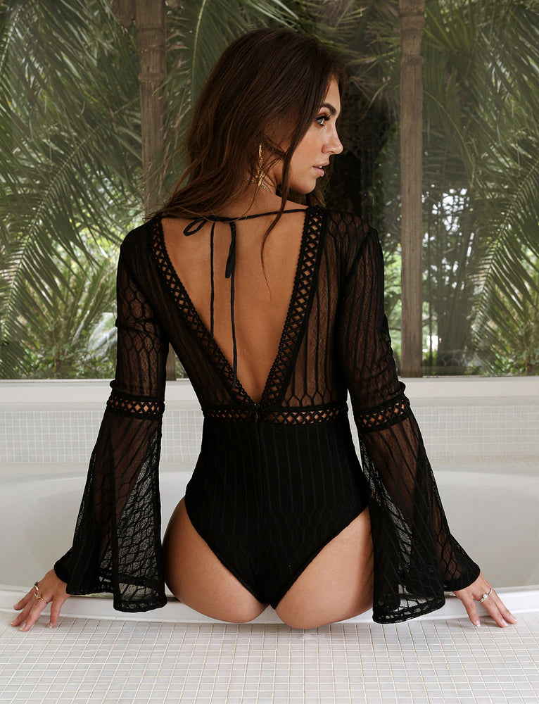 Alaska Bodysuit - Black