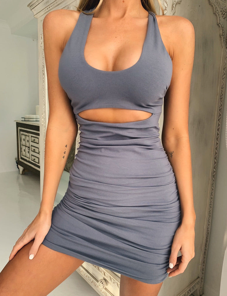 Kai Dress - Steel