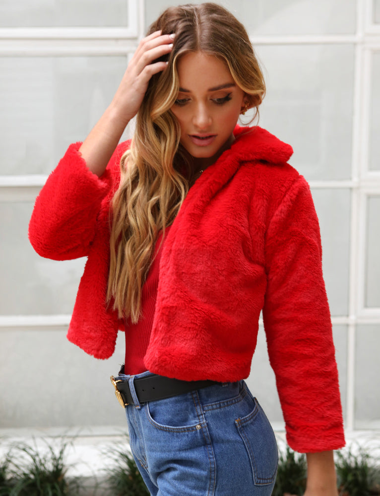 Frankie Coat - Red