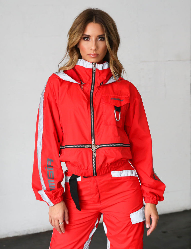 Halo Jacket - Red
