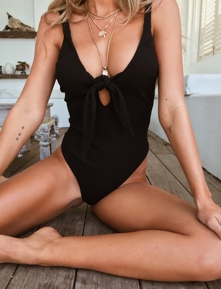 Hazel Bodysuit - Black