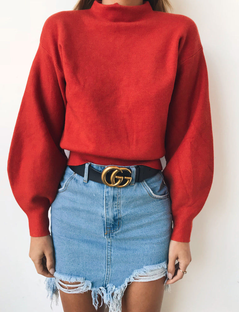 Dione Jumper - Red