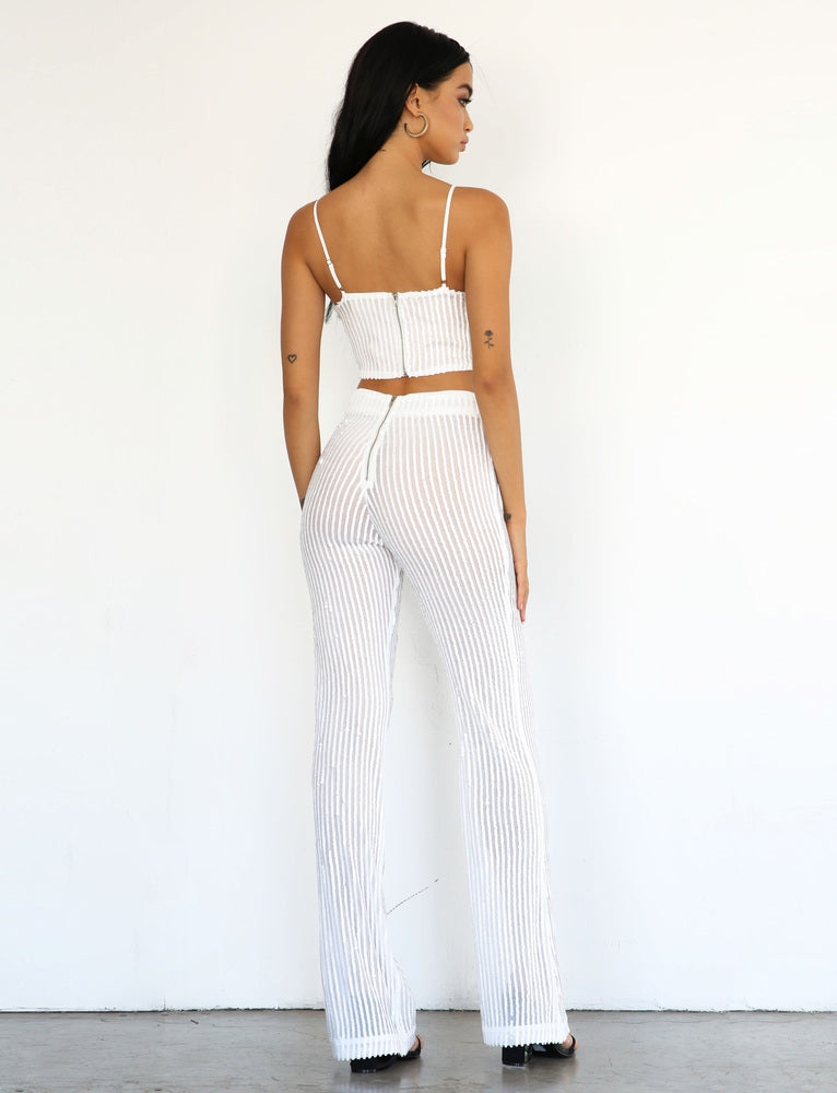 Emmie Pant - White