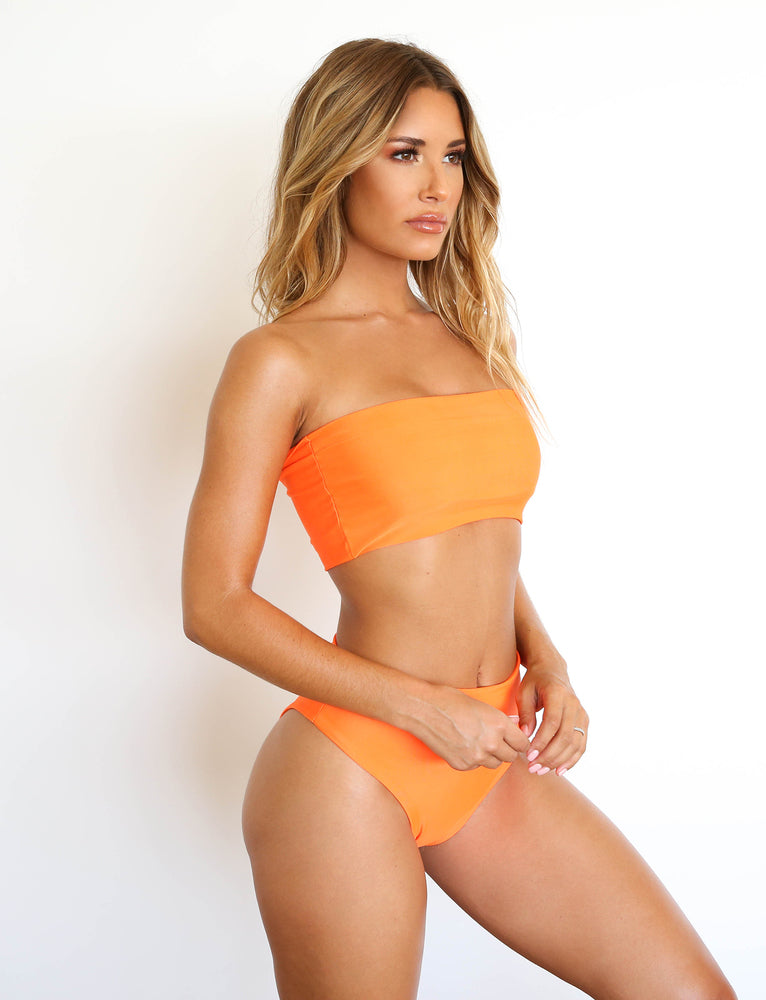 Solange Bikini Set - Neon Orange