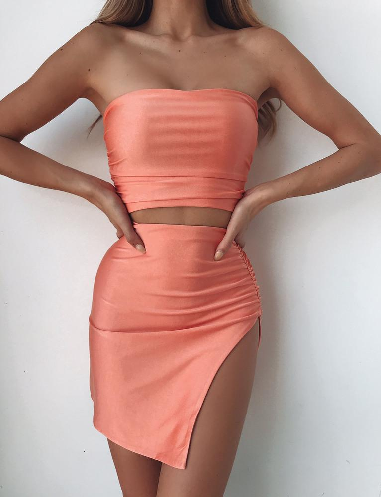 Arianna Skirt - Orange