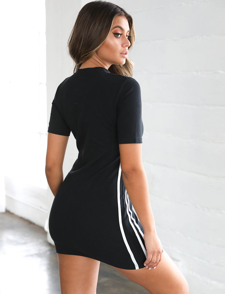 Game On Mini Dress - Black