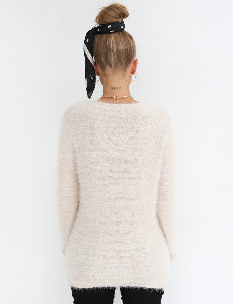 Zephyr Knit - Cream