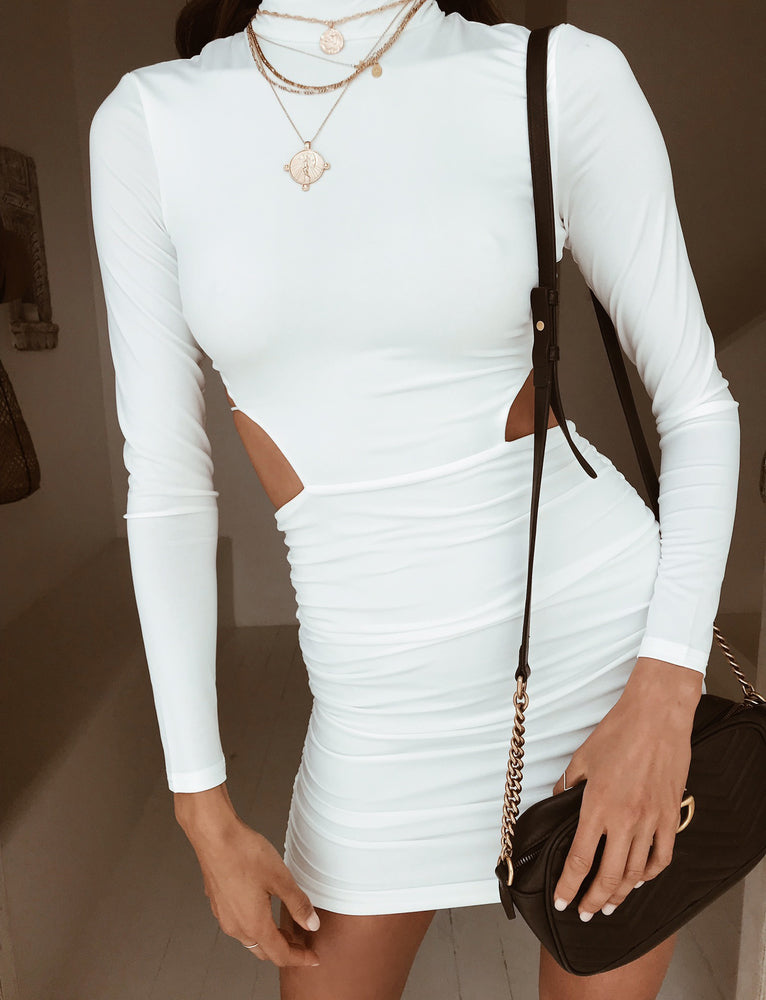 61d15dcaee9b2 Buy Our Kennedy Dress in White Online Today! - Tiger Mist