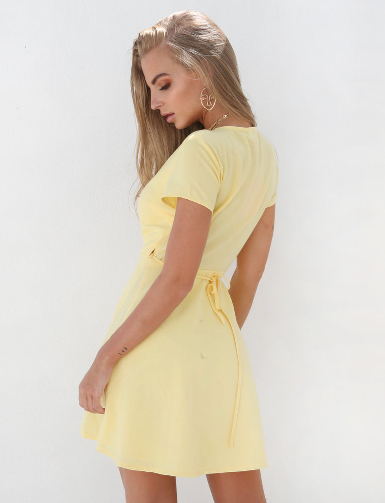 Seeing You Dress - Yellow