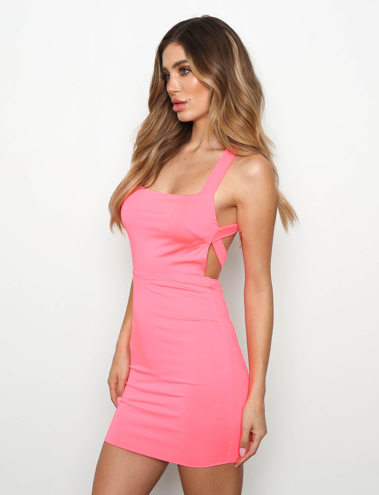 Tasha Dress - Pink