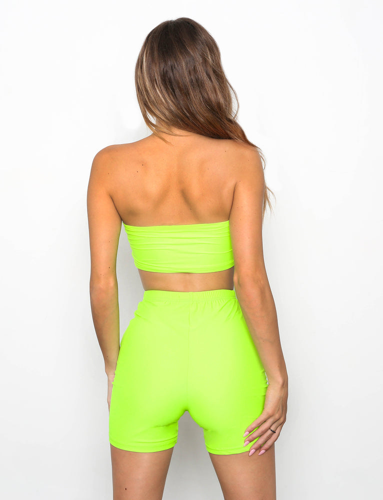 Kipp Two Piece - Lime Green