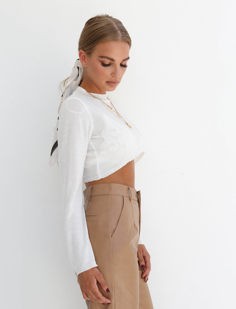 High Line Top - White
