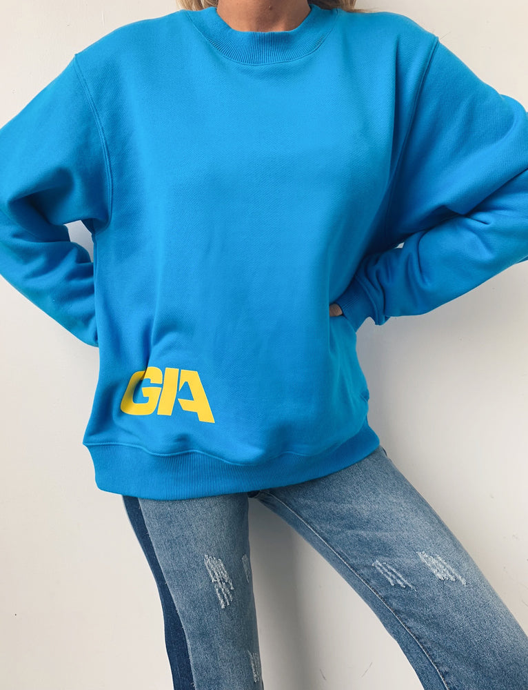 Taja Sweater - Blue