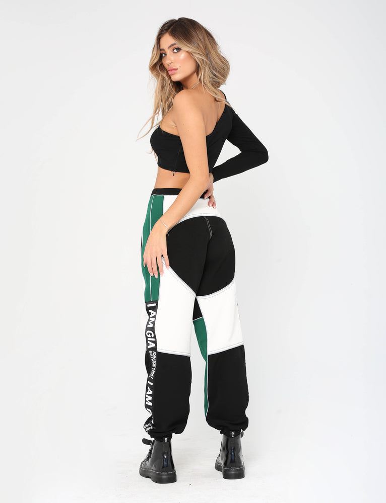 Electra Pant - Black/Green/White