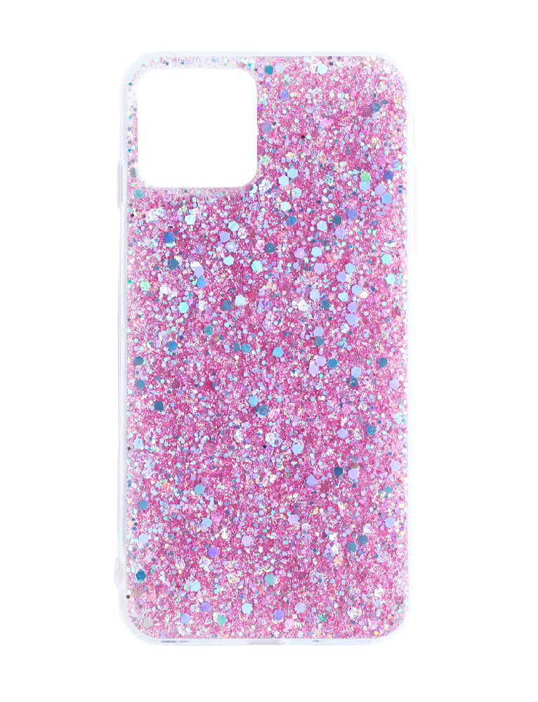 Iphone 11 Pro Pink Glitter Phone Case - Pink