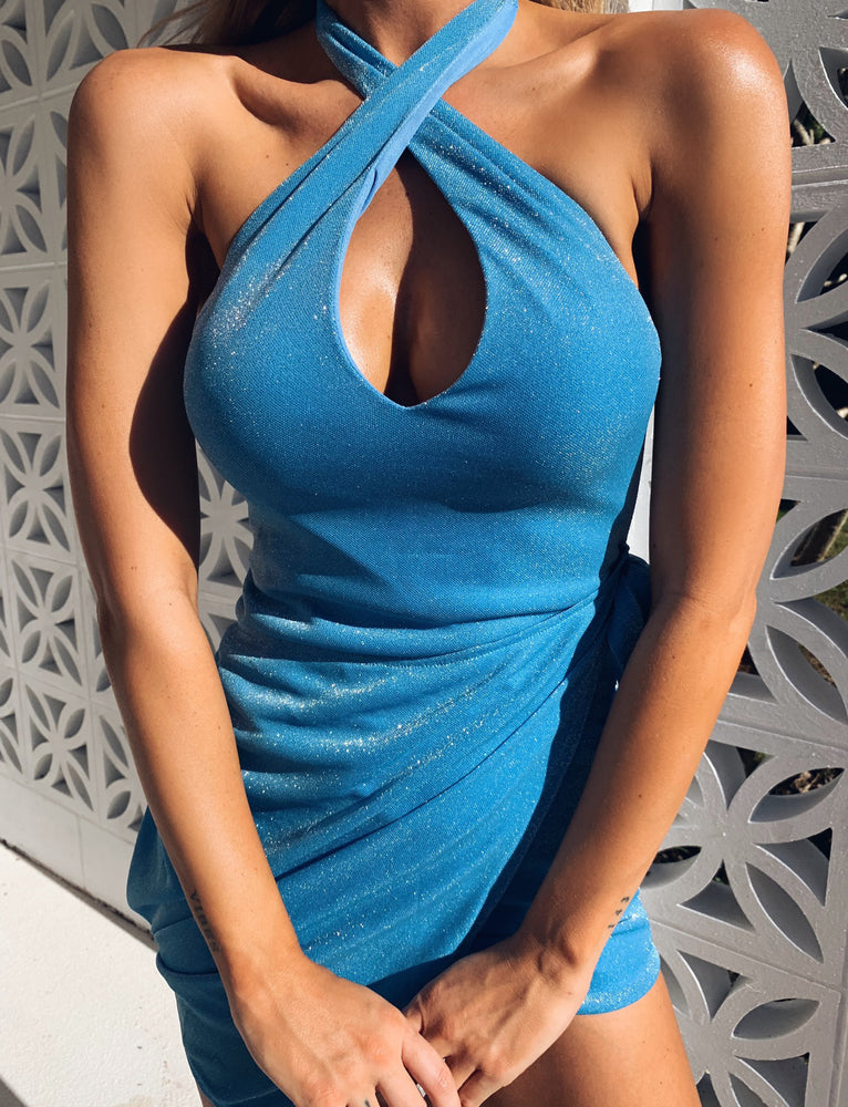 Jameela Dress - Blue