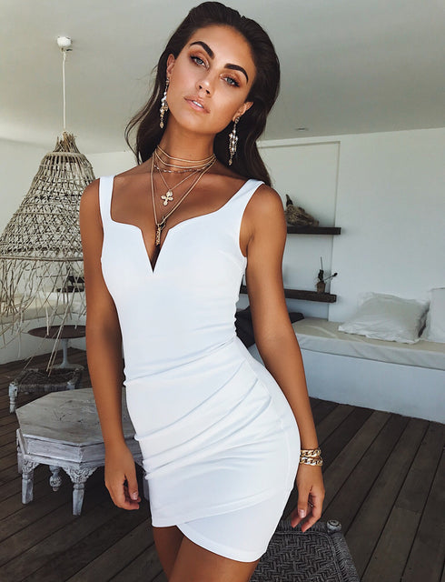 Leah Dress - White