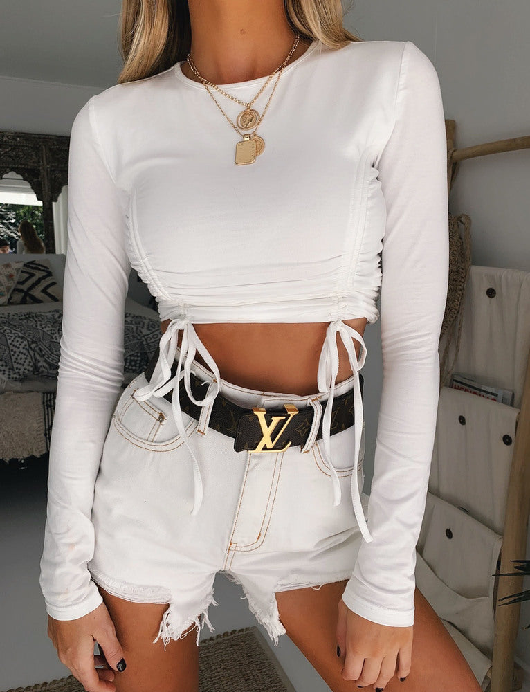Hollie Top - White