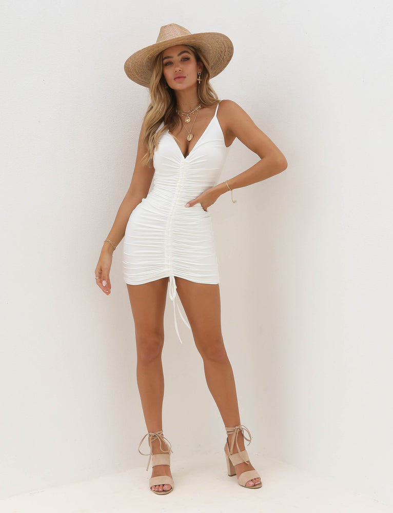 Sasha Dress - White