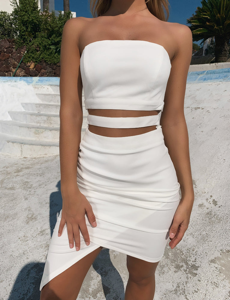 Dasha Dress - White