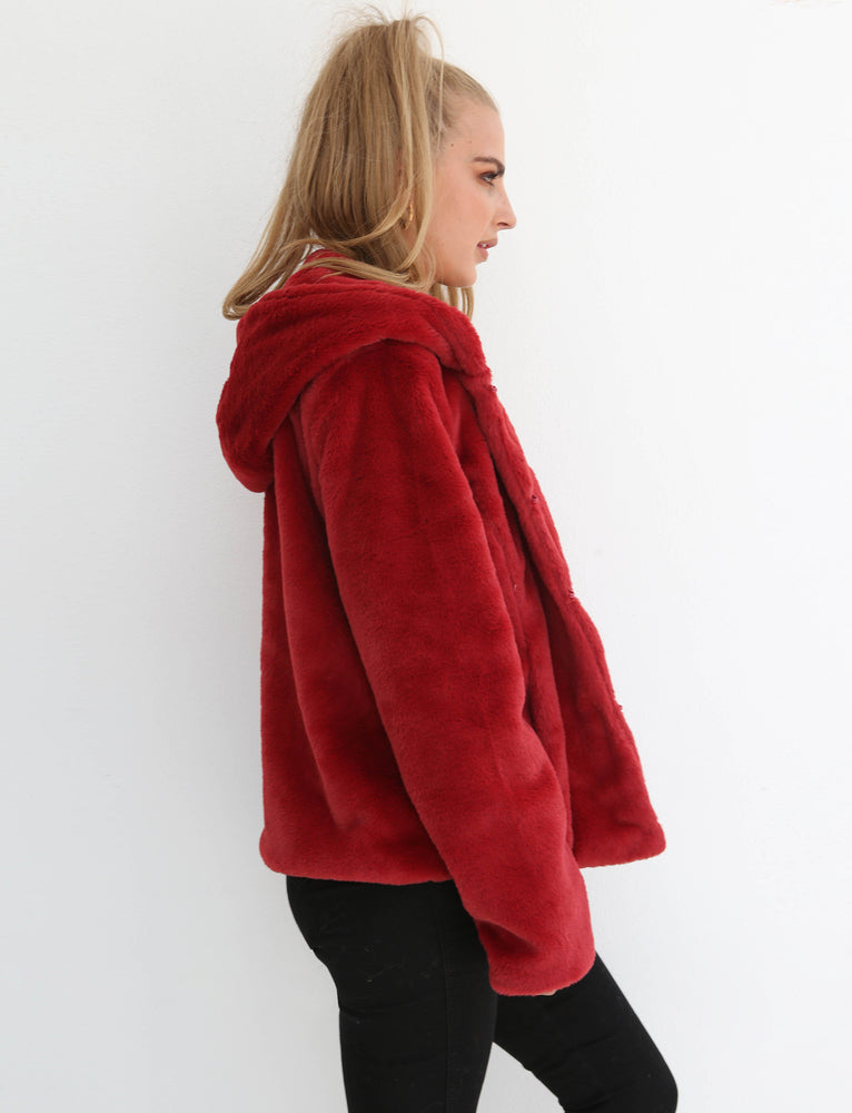 Cosy Bee Jacket - Red