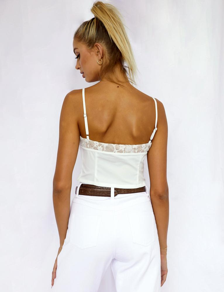 Lisandro Top - White
