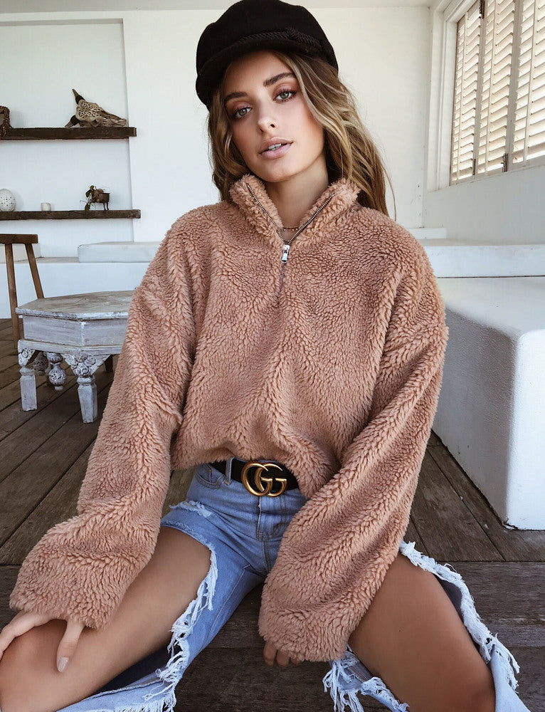 Alessia Jumper - Tan