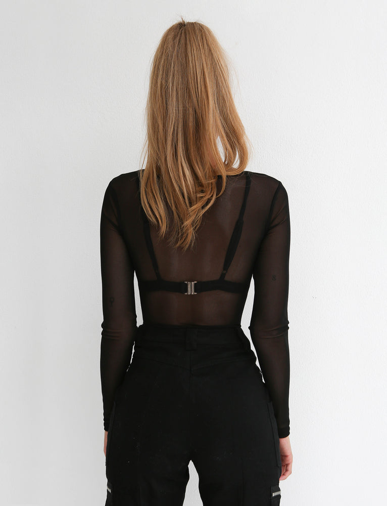 Gemini Bodysuit - Black