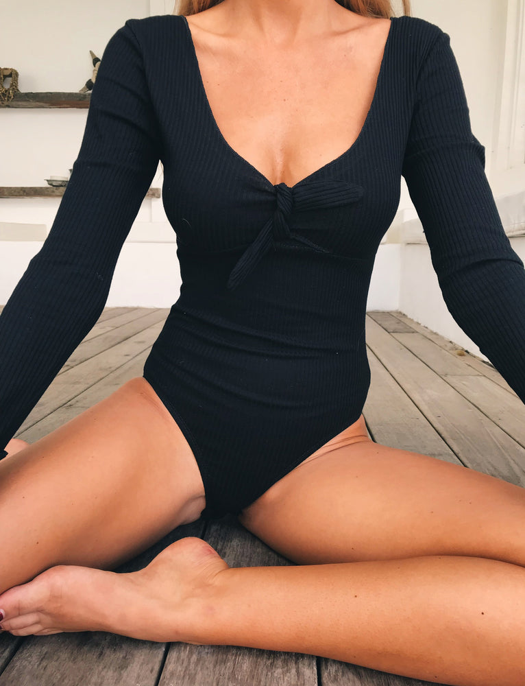Lucia Bodysuit - Black