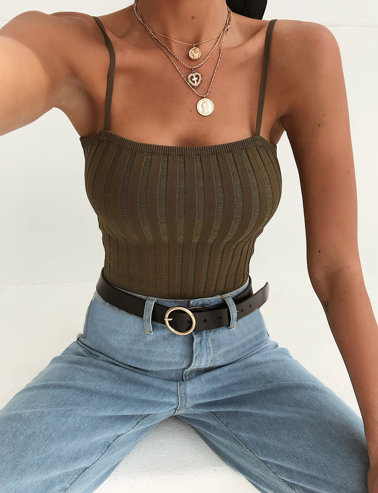 Sunday Top - Khaki