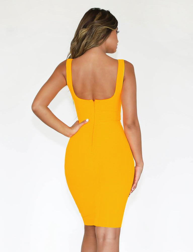 Riva Dress - Yellow