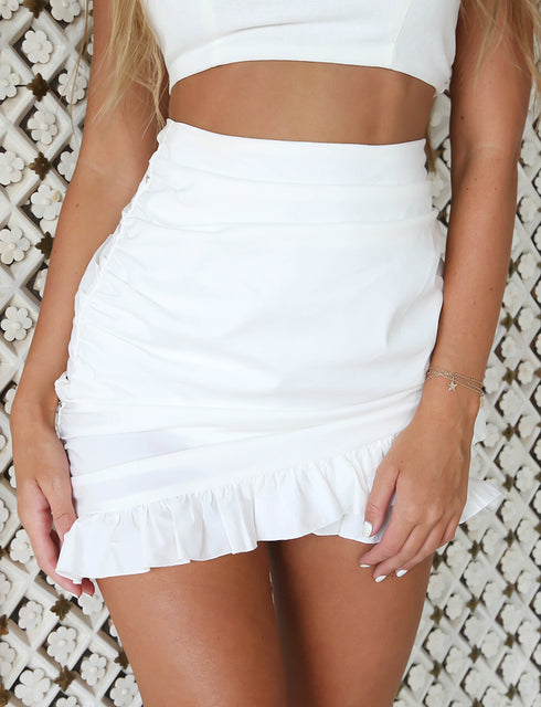 Millie Skirt - White