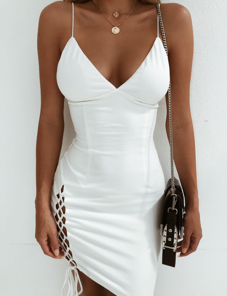 Tashanna Dress - White