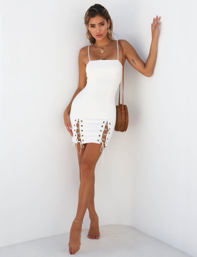 Avalon Dress - White