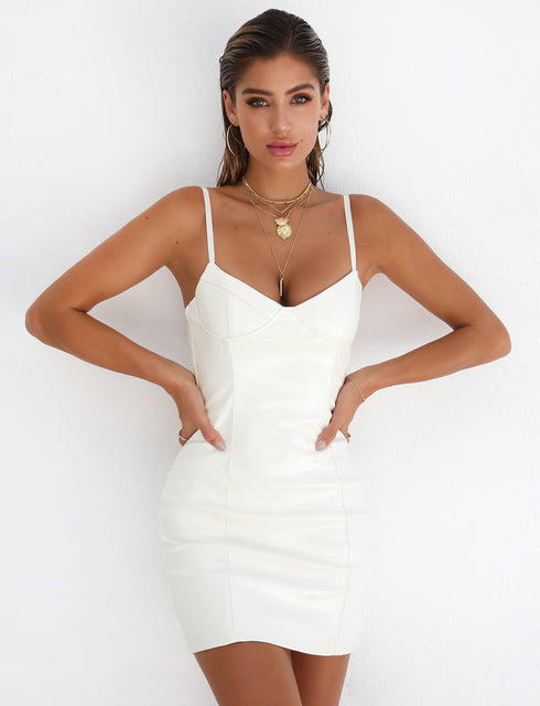 Kaia Dress - White
