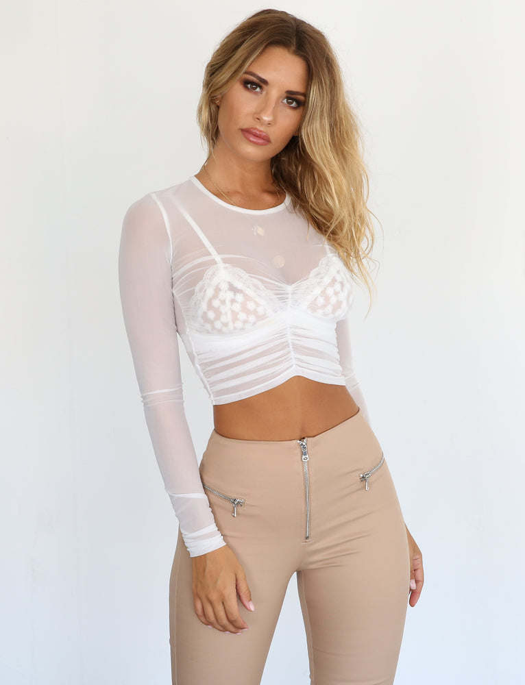 Haven Top - White
