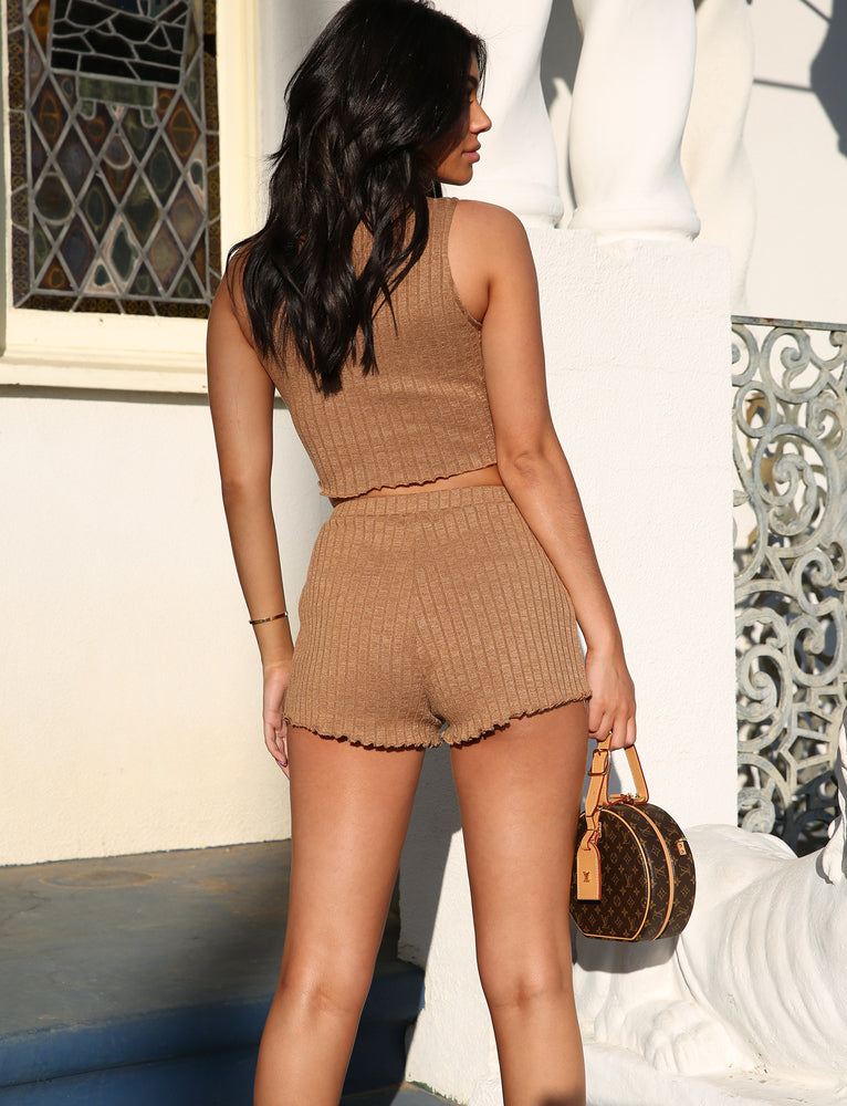 Alba Short - Brown