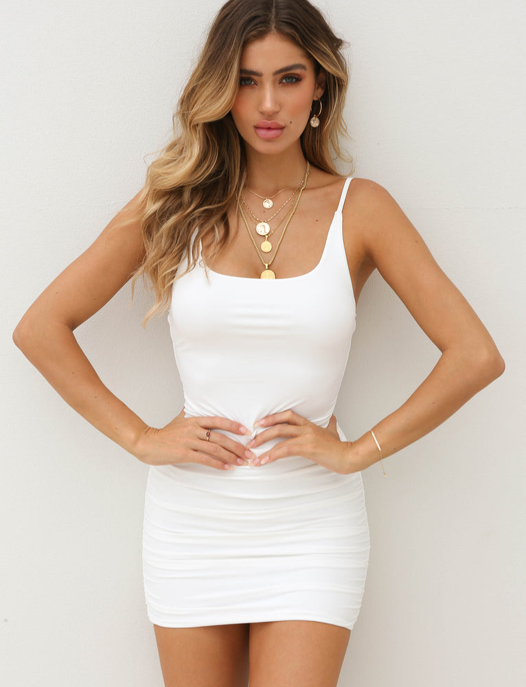Bondi Dress - White