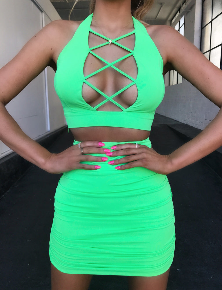 Cece Crop - Pop Green