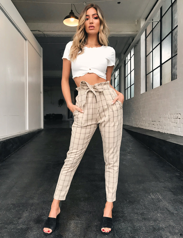 Bambi Pant - Neutral Beige