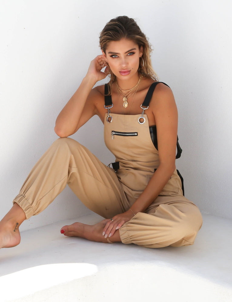 12b4017b0433 Buy Our Cobain Overalls in Tan Online Today! - Tiger Mist