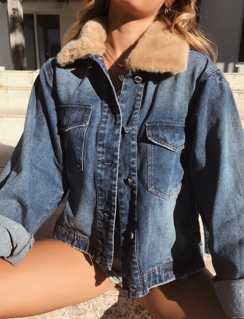 Sidney Denim Jacket - Blue
