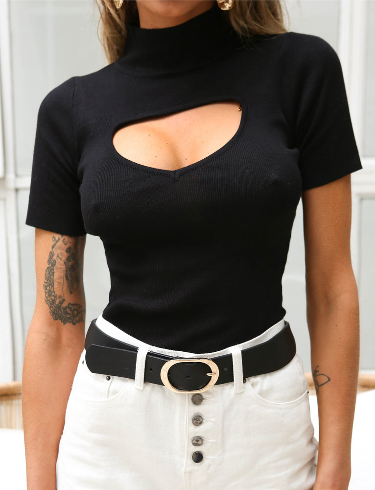 Kent Top - Black
