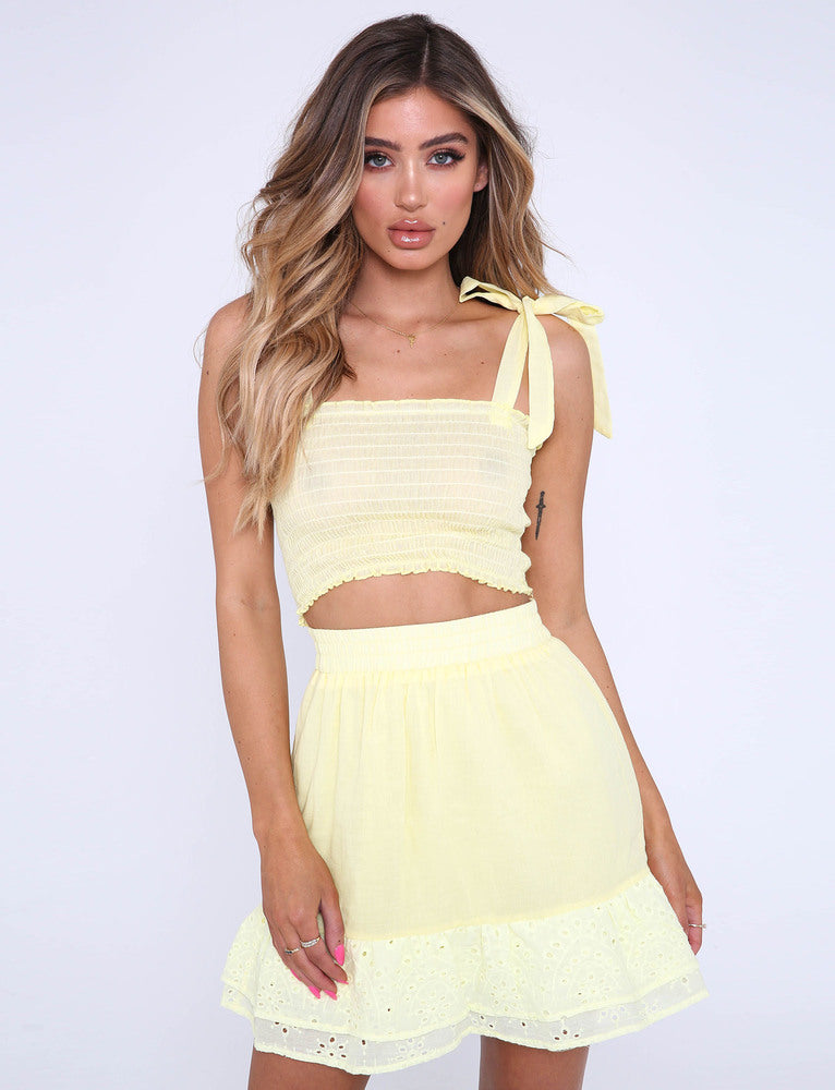 Ariel Two Piece - Yellow