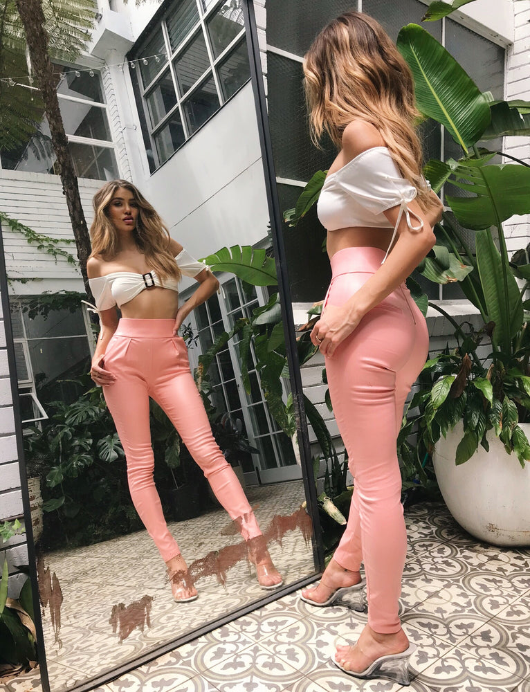 Back It Up Pant - Pink