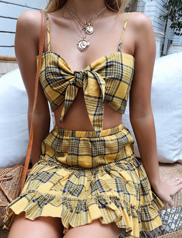 Kayla Two Piece  - Yellow