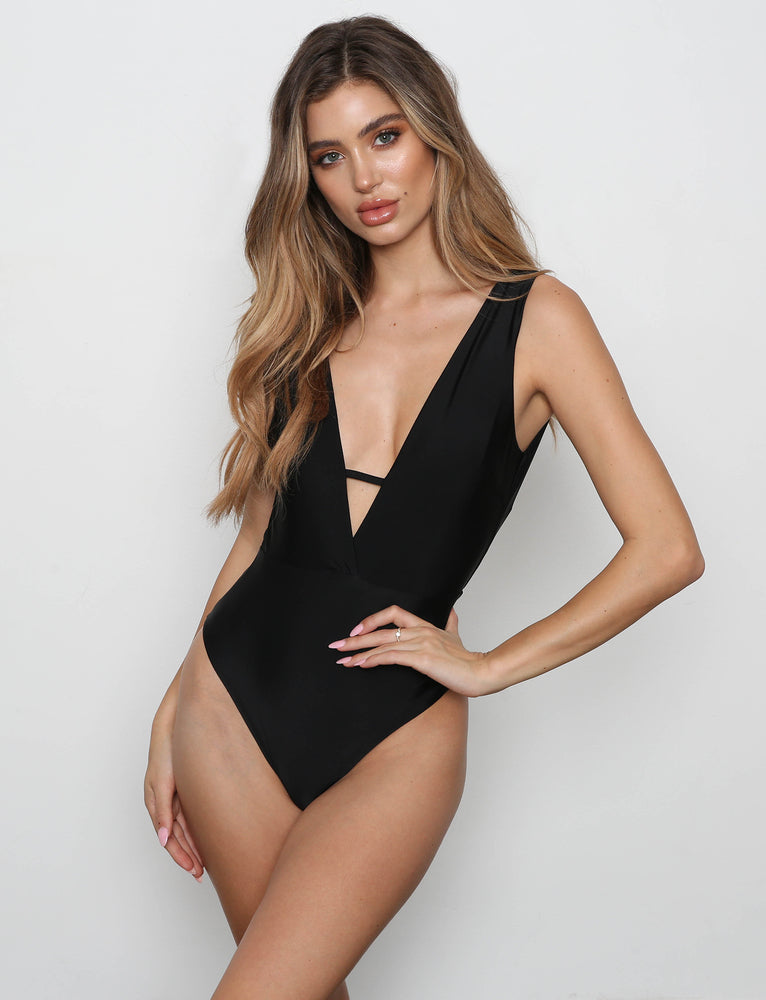 Harlow Bodysuit - Black