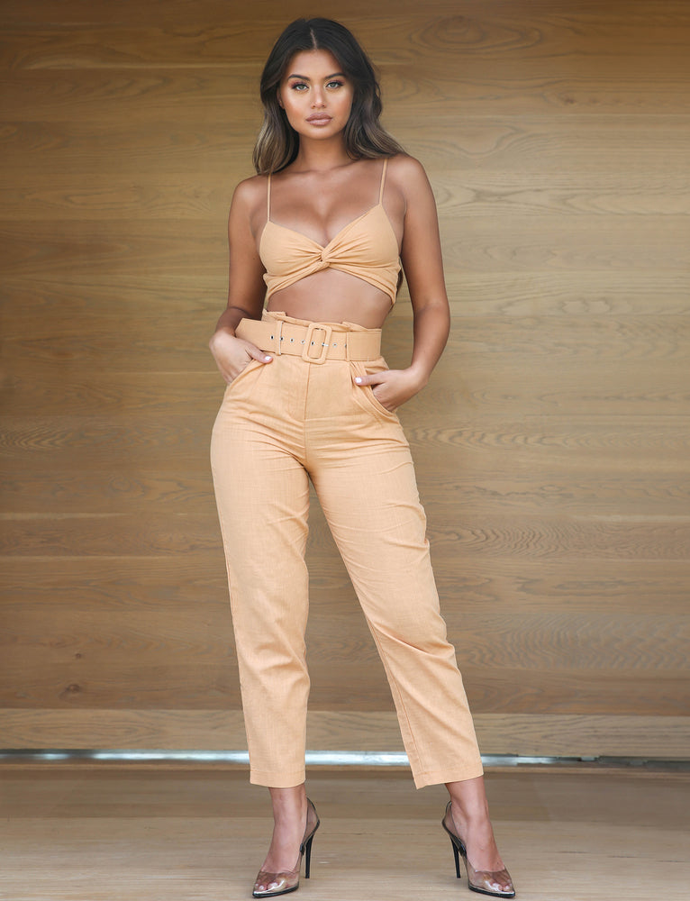 Hilary Two Piece - Rust